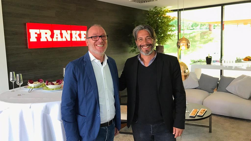 Visita alla Franke con Giorgio Tartaro